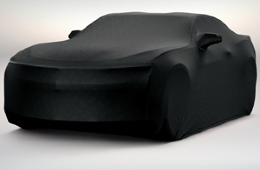 Cubierta para vehículo negro