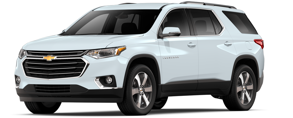 CHEVROLET TRAVERSE 2020 BLANCO