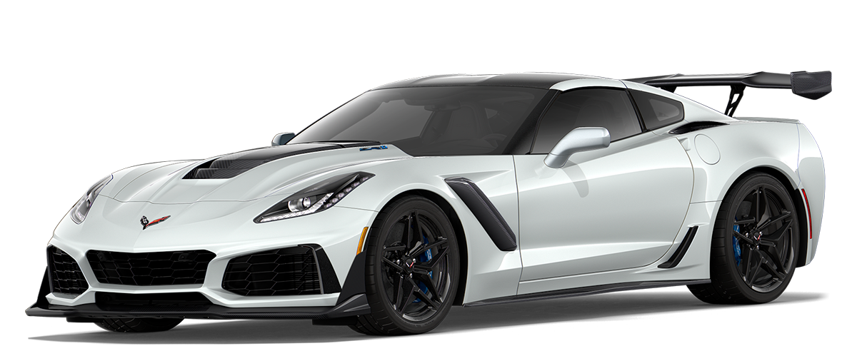 vista CORVETTE ZR1 2019