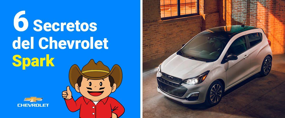 6 secretos del Chevrolet Spark
