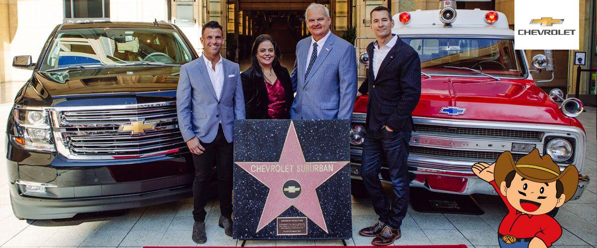 El Día que la Chevrolet Suburban obtuvo una estrella en el Paseo de la Fama de Hollywood