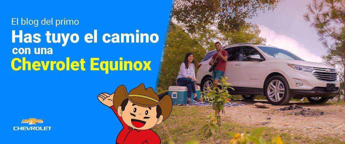 Has tuyo el camino con una Chevrolet Equinox