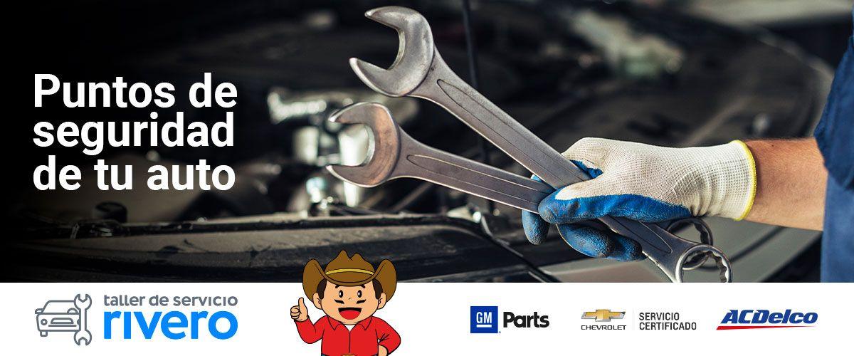 Puntos de seguridad de tu auto