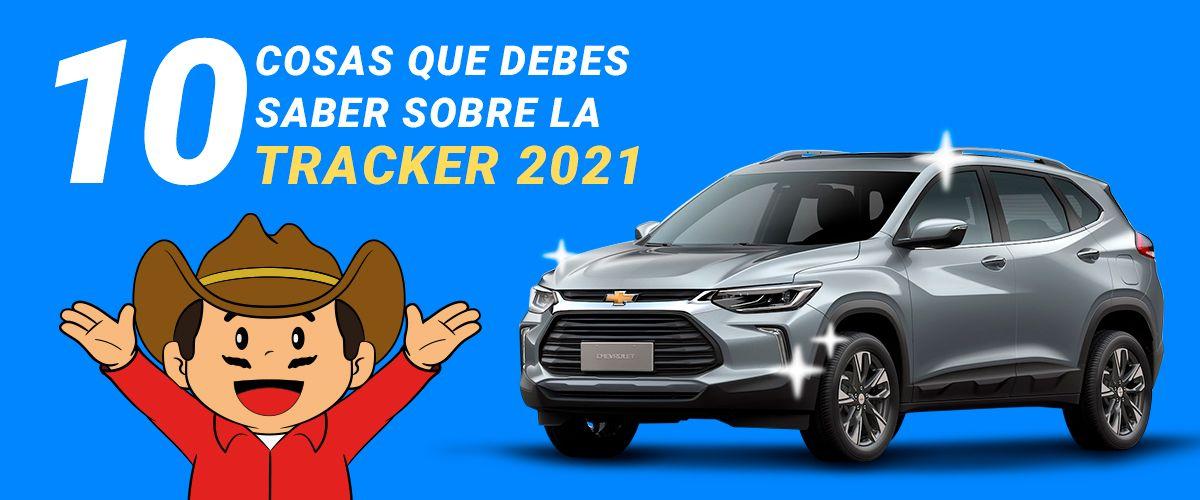 10 cosas que debes saber Sobre la Chevrolet Tracker 2021