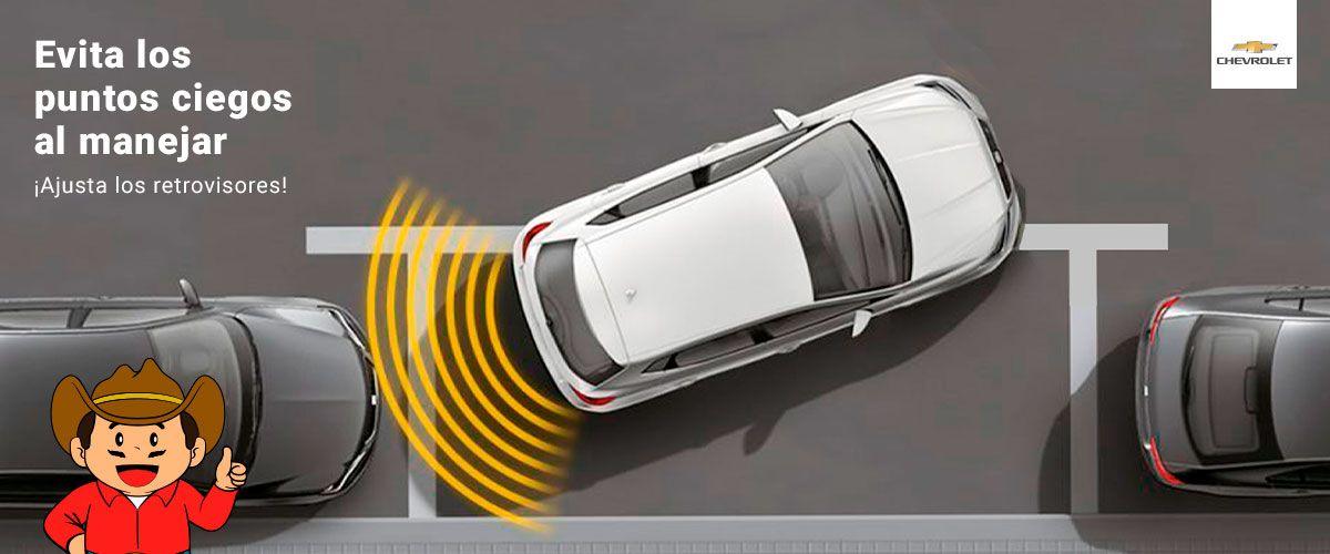Evita los puntos ciegos al manejar ¡Ajusta los retrovisores!
