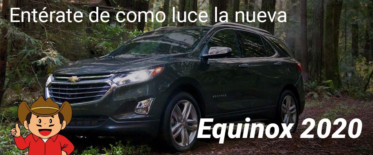 Entérate de como luce la nueva Chevrolet Equinox 2020