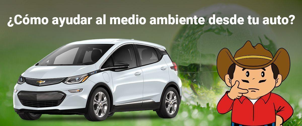 ¿Como ayudar al medio ambiente desde tu auto?