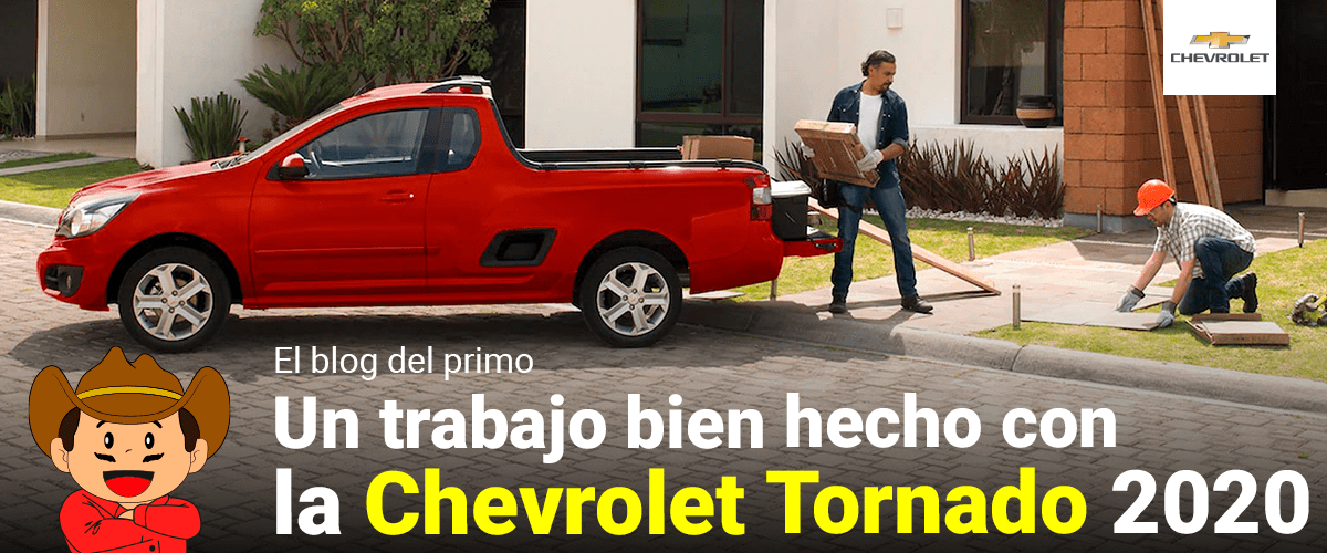 Un trabajo bien hecho con la Chevrolet Tornado 2020